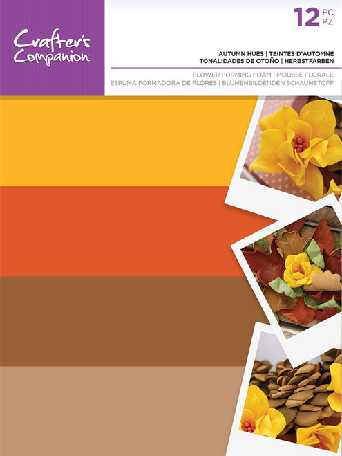 Crafter's Companion: Flower Forming Foam, Autumn Hues