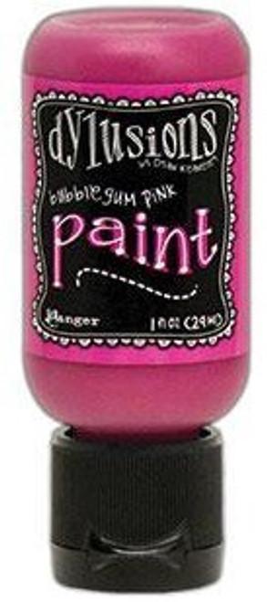 Ranger Ink: Dylusions Paint, 1 oz. Flip Cap Bottle - Bubblegum Pink