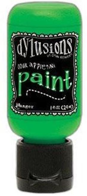 Ranger Ink: Dylusions Paint, 1 oz. Flip Cap Bottle -  Sour Appletini