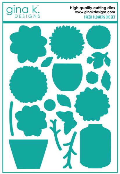 Gina K Designs: Die Set, Fresh Flowers