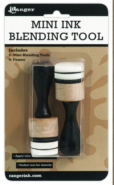 "Ranger Ink: Inkssentials Mini Ink Blending Tool 1"" Round"