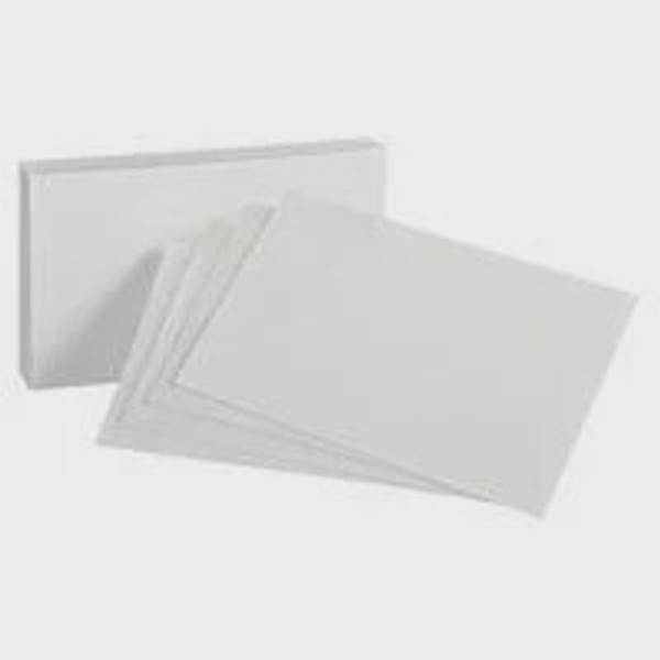 """The Paper and Ink Boutique - Card Base 8.5"""" x 5.5"""" -  80lb Smooth White Cardstock"""