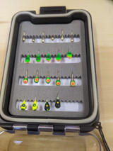 20 Tungsten Jigs With A Waterproof Box