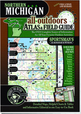 Northern Michigan Atlas Sportsman's Connection 7520 All Outdoors Atlas