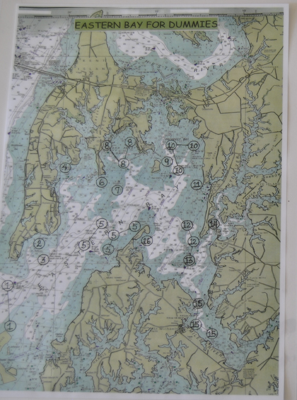 Eastern Bay Map