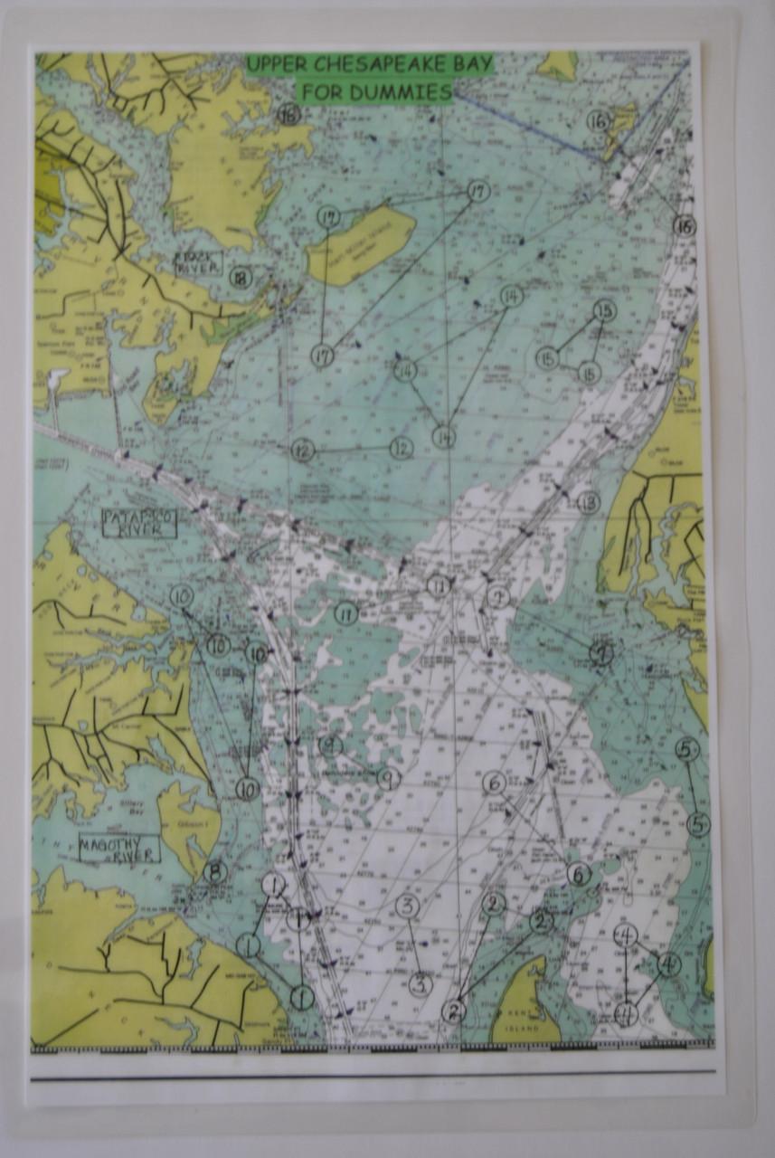 All 4 Chesapeake Bay Maps