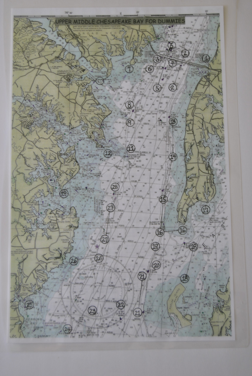 All 4 Chesapeake Bay Maps