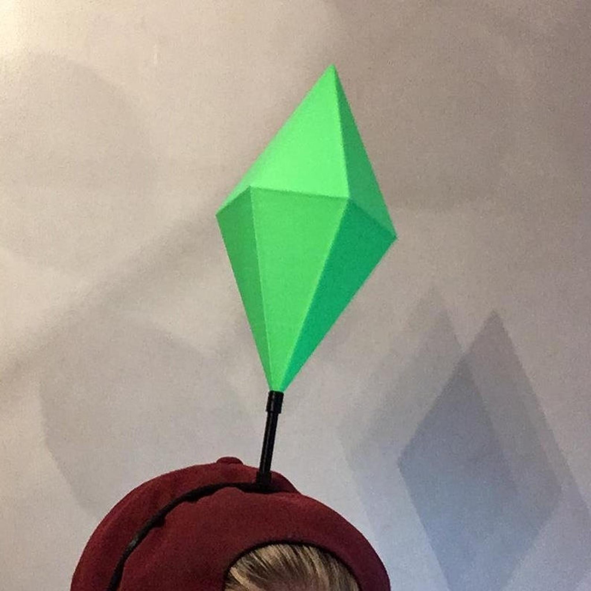 Sims Plumbob Icon Led Headband I Give Cool Gifts