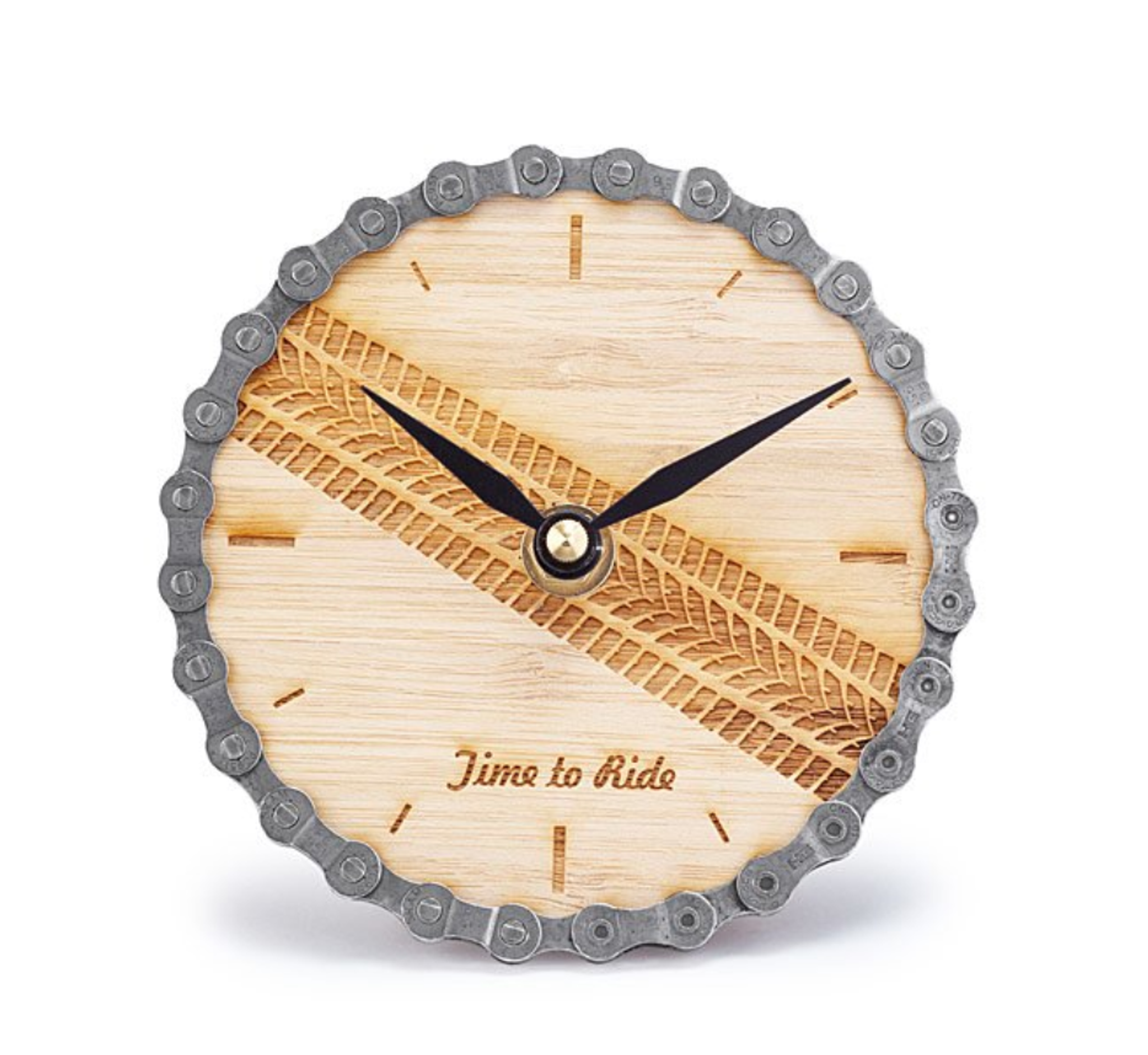 Time To Ride Desk Clock