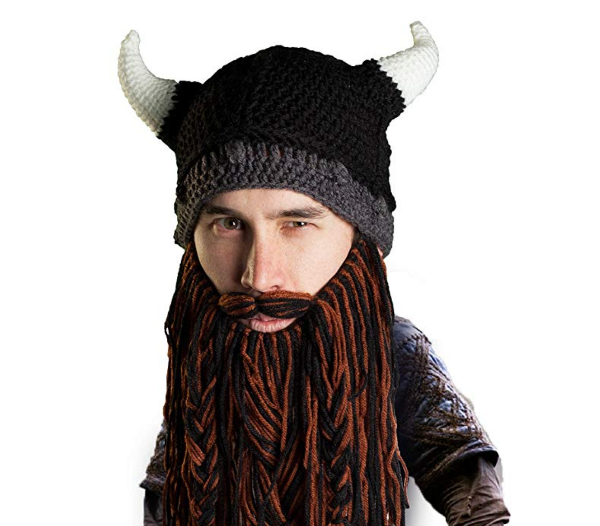 Viking Bearded Beanie Set - I Give Cool Gifts 02d8dad8046