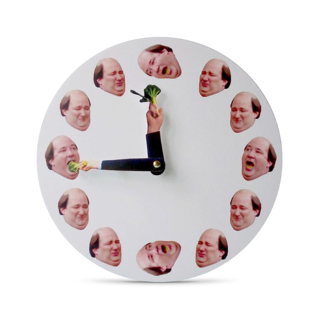 The Office Kevin Broccoli Clock