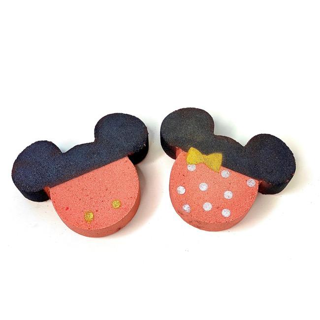 Mickey & Minnie Inspired Bath Bombs
