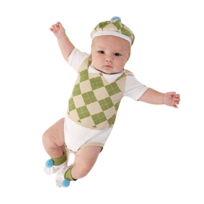 Sweet Tee 3-Piece Golf Baby Set