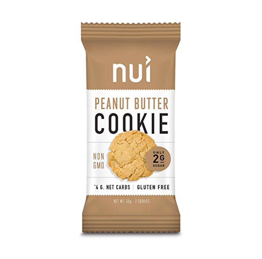 Keto Peanut Butter Cookies by Nui