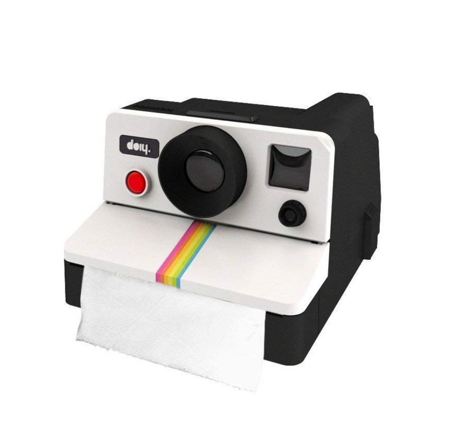 Polaroid Toilet Paper Dispenser