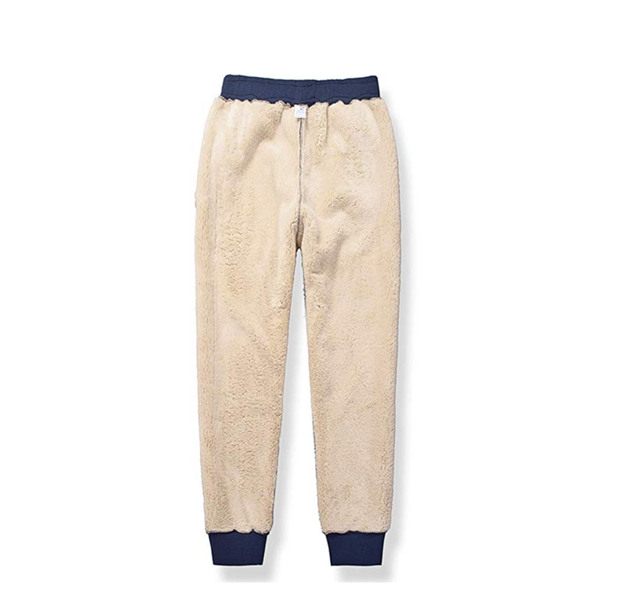 Sherpa-Lined Sweatpants
