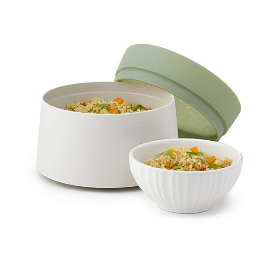 Microwave Quinoa & Rice Cooker