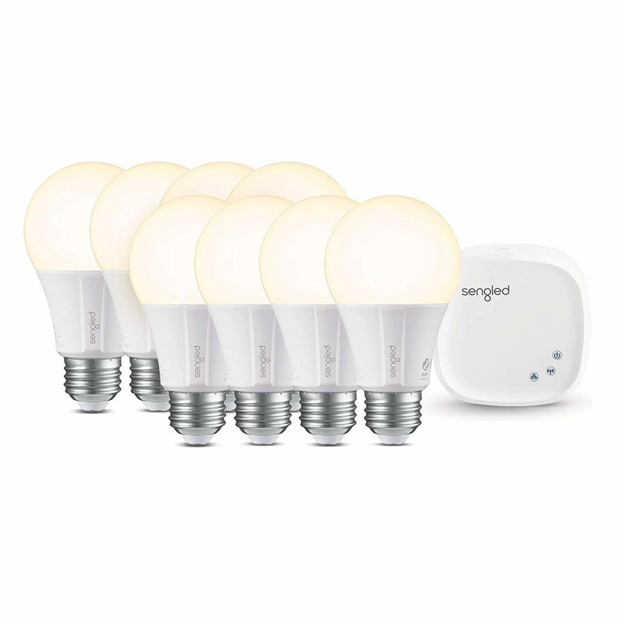 Sengled Smart Light Bulb 8-Pack + Hub