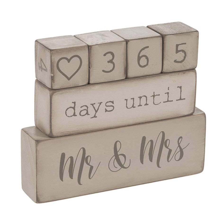 Wedding Day Countdown Calendar