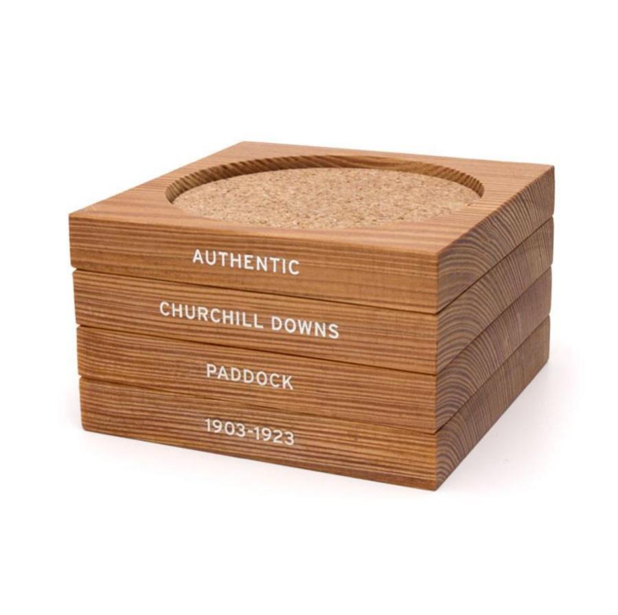 Churchill Downs Paddock Wood Coasters