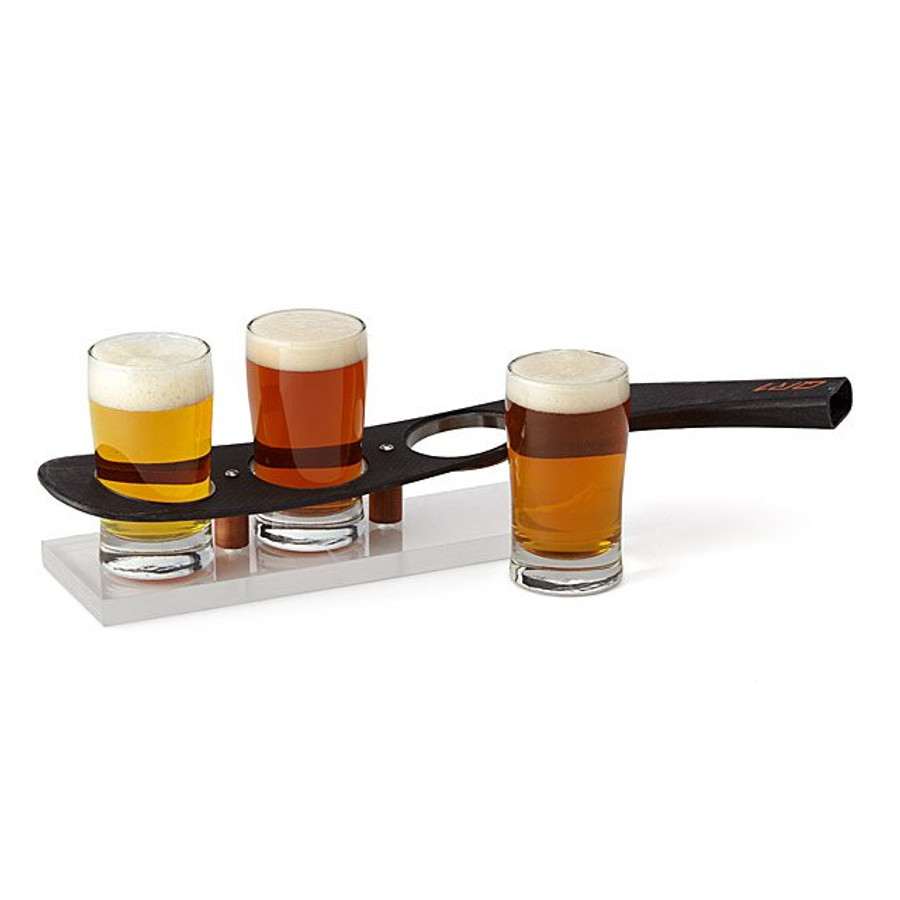 NHL Game-Used Hockey Stick Beer Flight