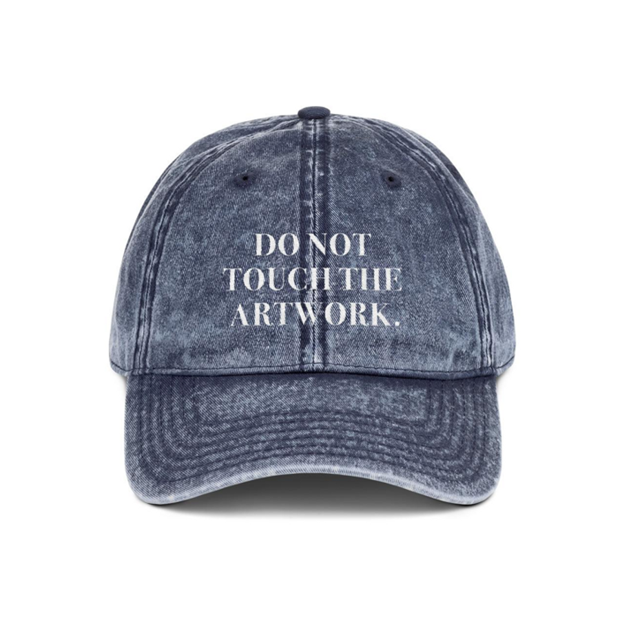 DO NOT TOUCH HAT
