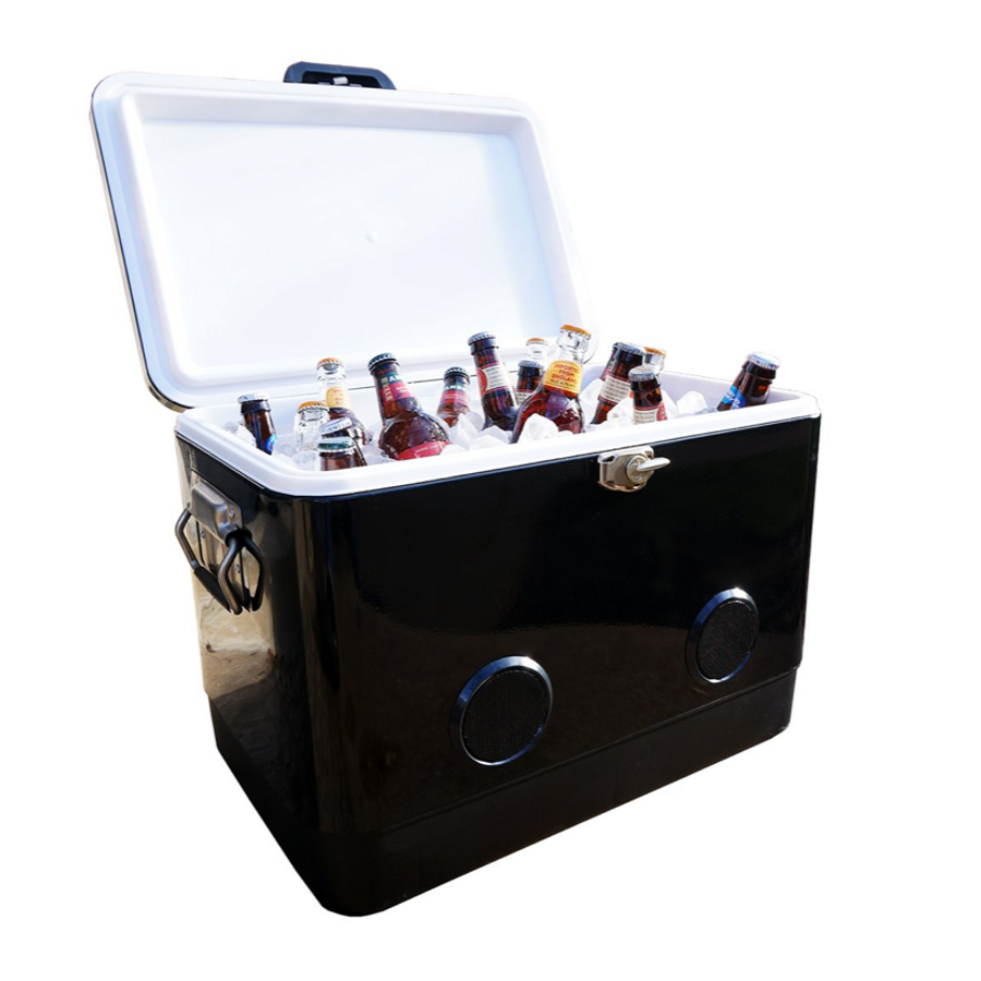 Double Walled Bluetooth Speaker Cooler
