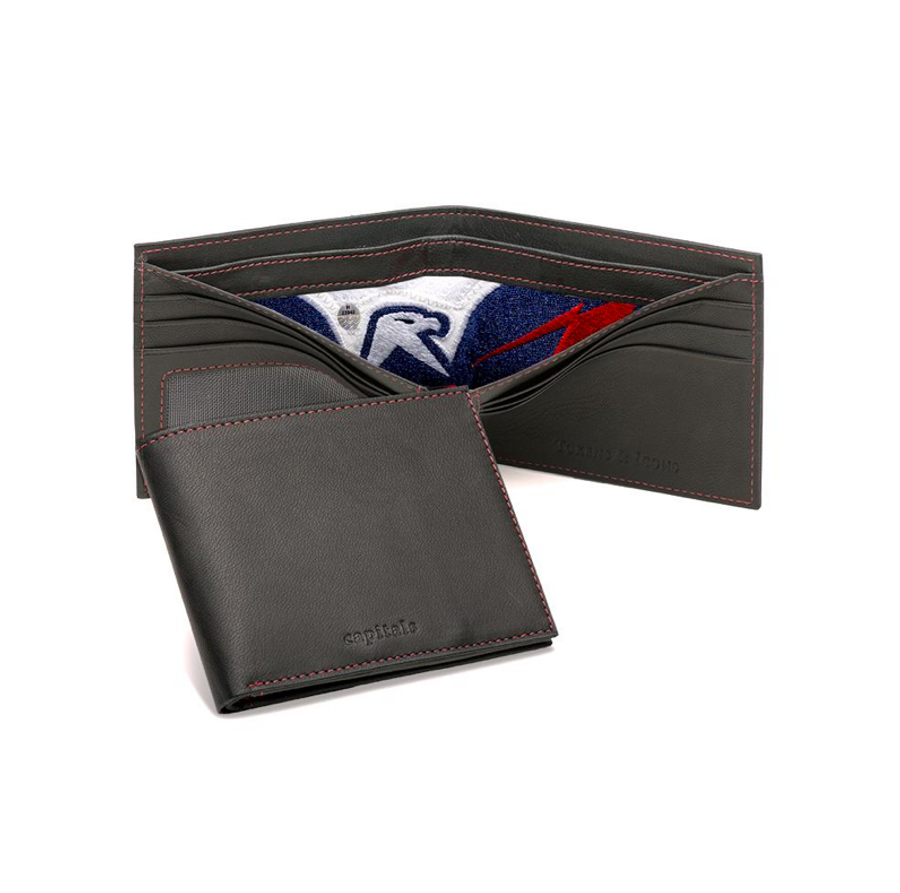 Washington Capitals Game-Used Uniform Wallet With Emblem