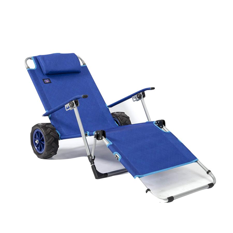 Beach Day Lounger + Cart
