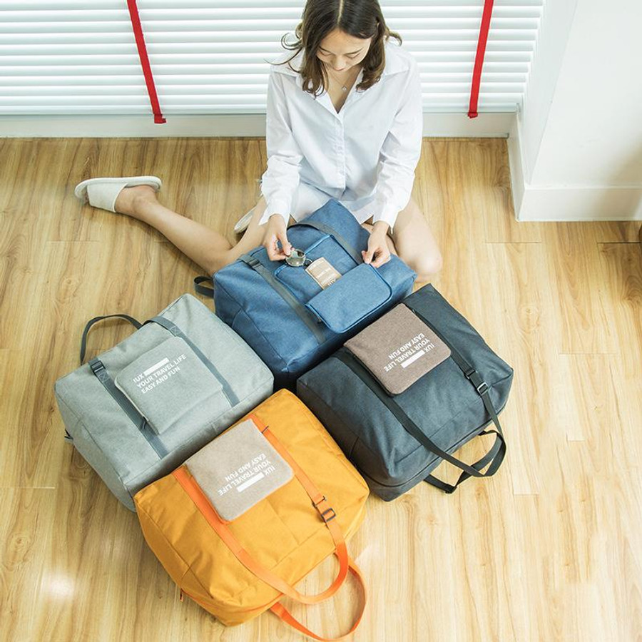 Canvas Folding Travel Bag