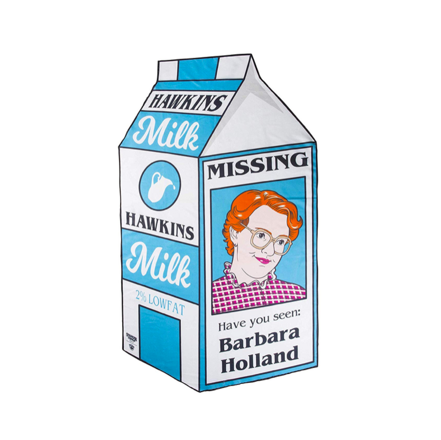 Barb is Missing Stranger Things Beach Blanket