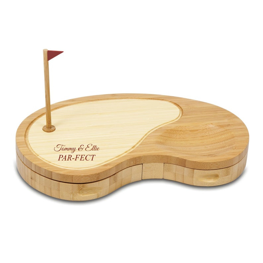 Personalized Golf Cheese Board