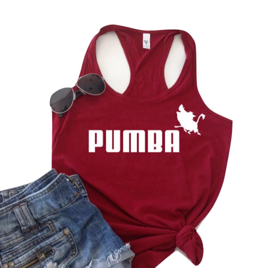 Pumba Lion King Tank Top