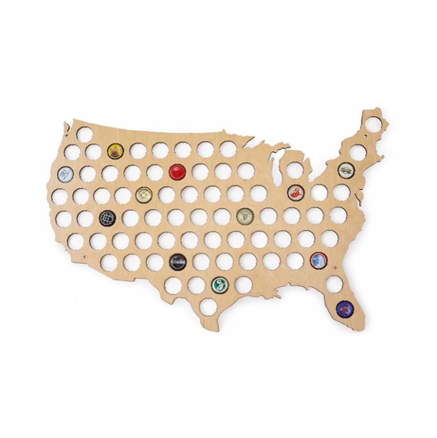 US State Beer Cap Trap