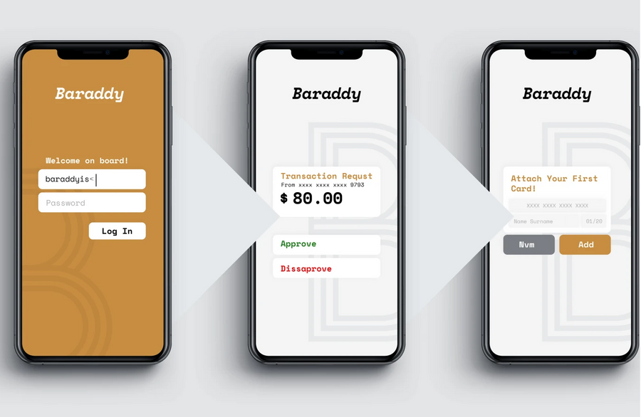 Baraddy: Wallet with Payment & Charging Systems