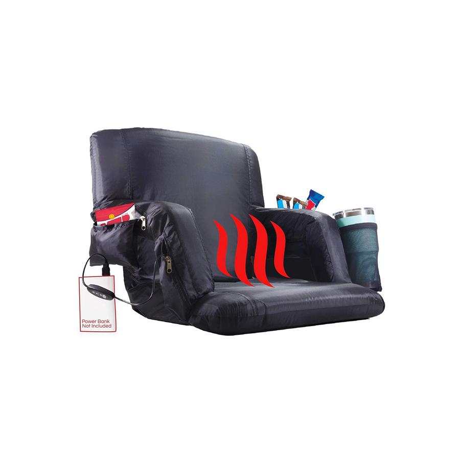 The Hot Seat Heated Stadium Bleacher Seat