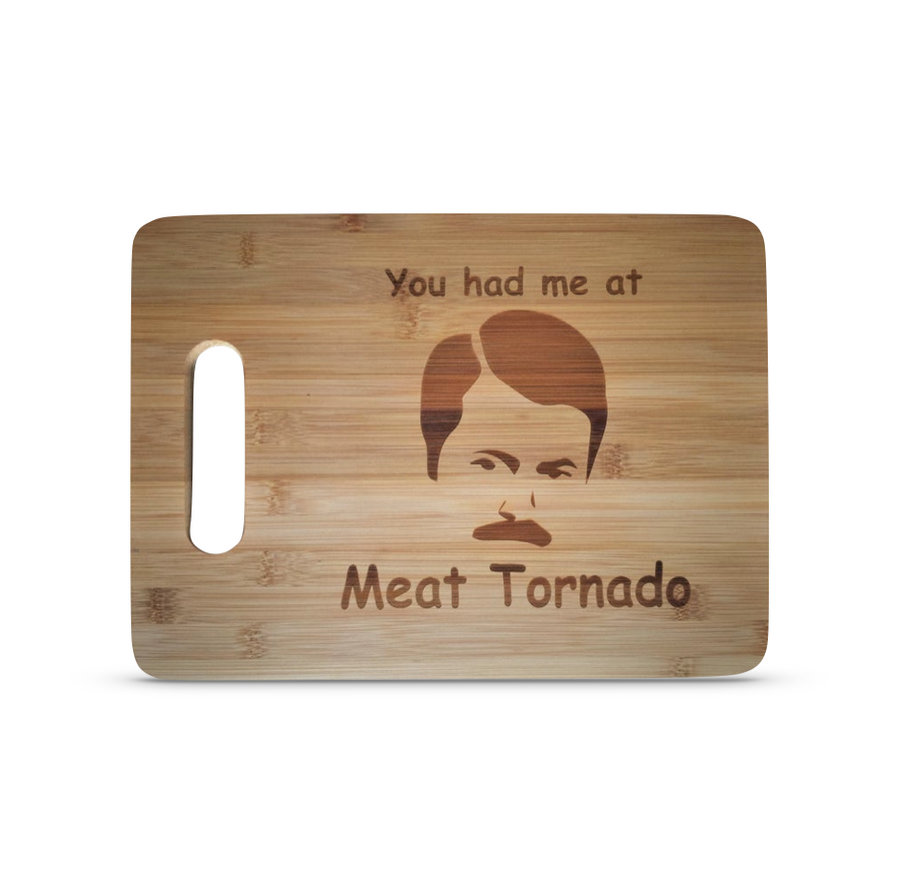 Ron Swanson Parks and Recreation Cutting Board
