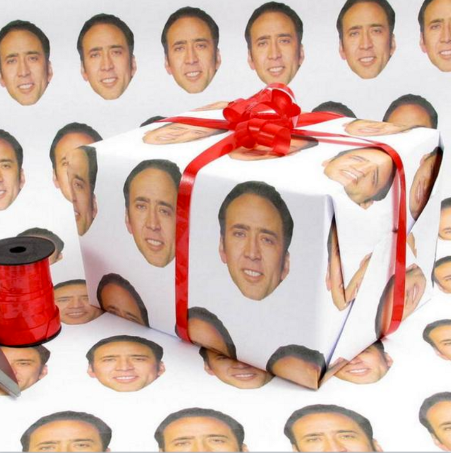Nicolas Cage Wrapping Paper