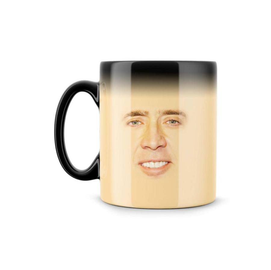 Nicolas Cage Heat Revealing Mug