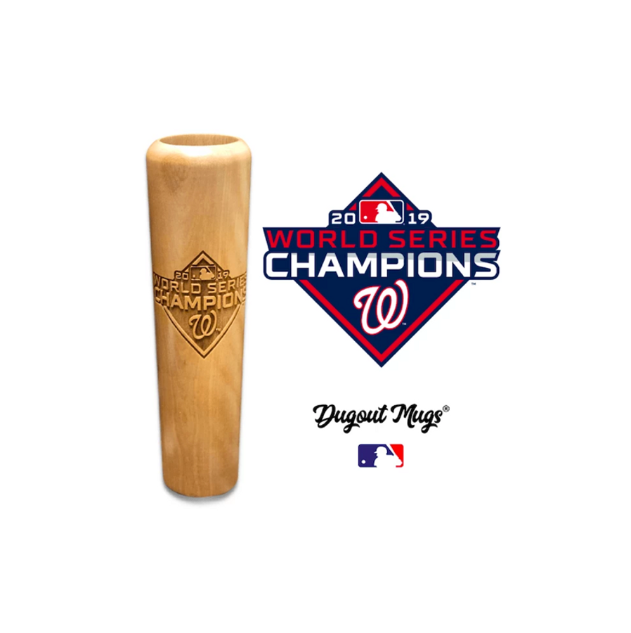 Washington Nationals World Series Championship Bat Dugout Mug