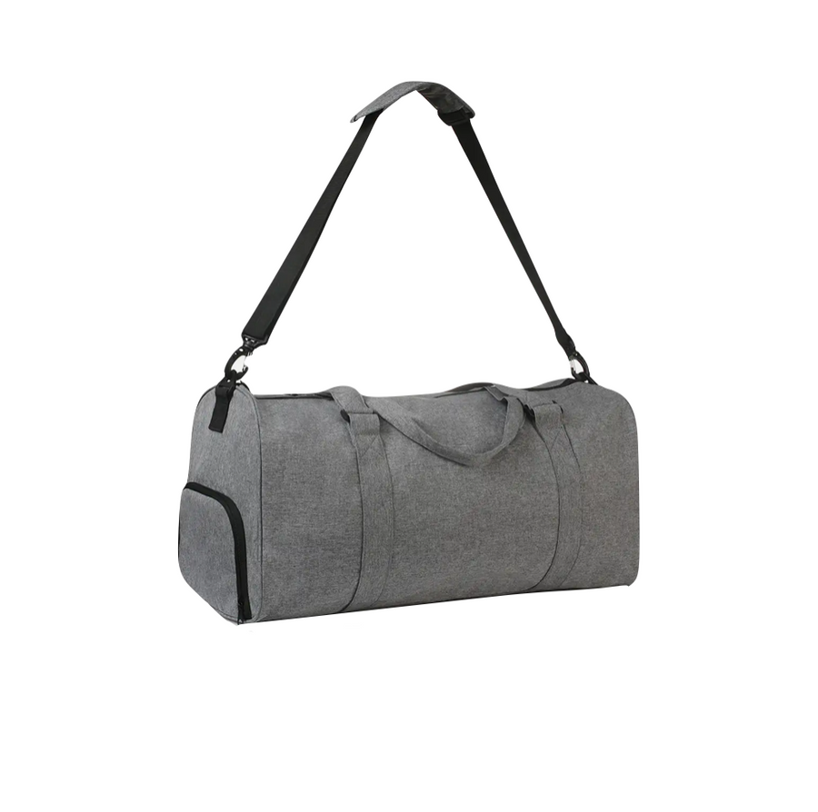 Charcoal Travel Duffel Bag