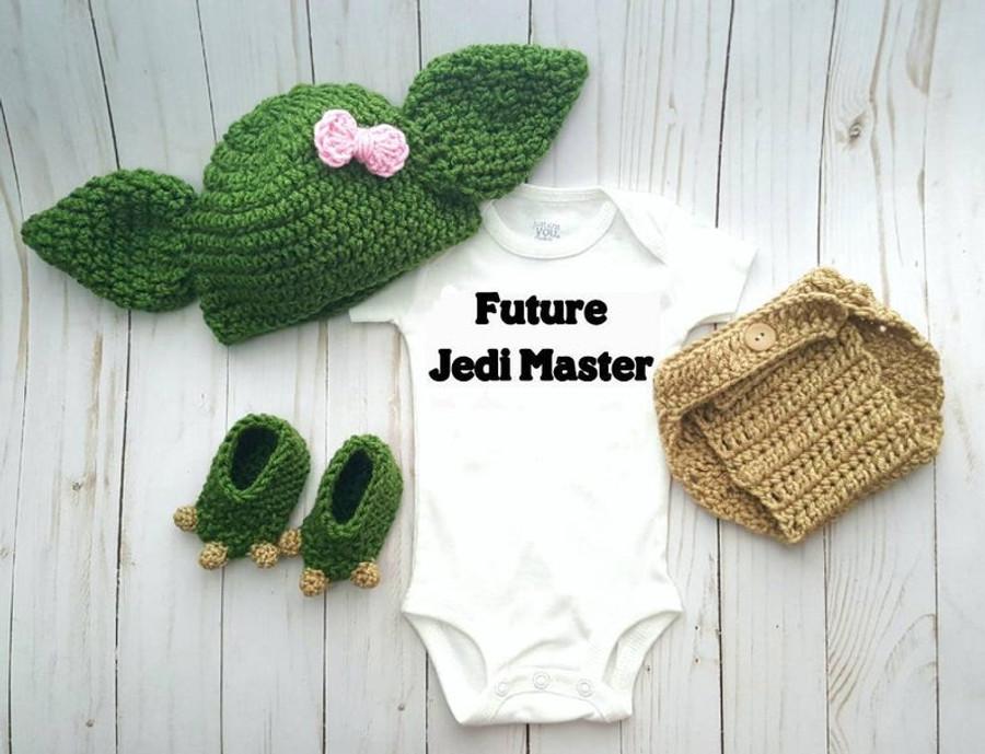 Baby Yoda Baby Costume