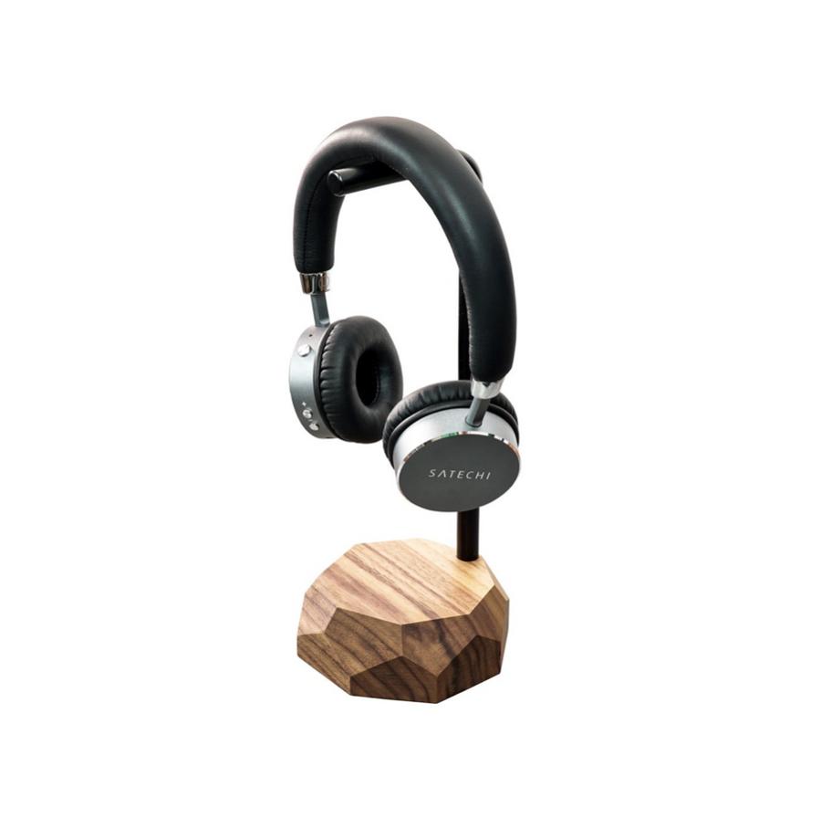Wooden Headphones Stand