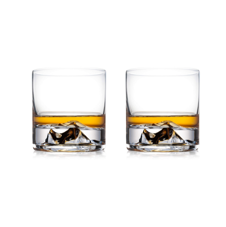 Everest Whiskey Glasses Set of 2