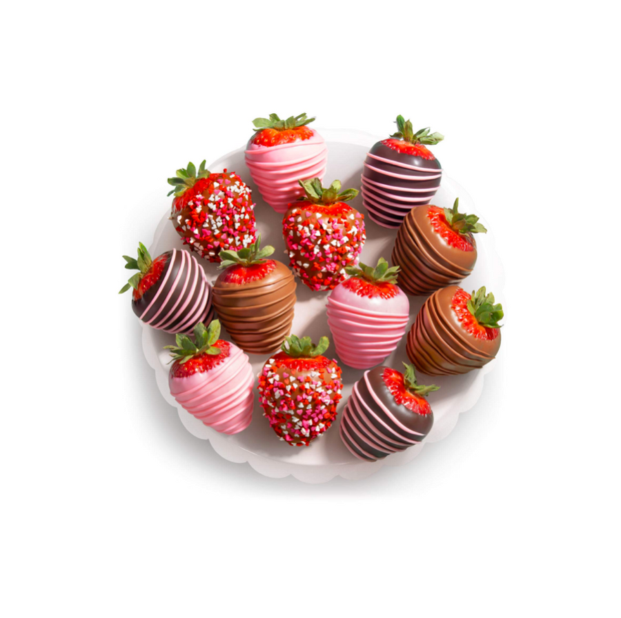 12 Love Berries Chocolate Covered Strawberries