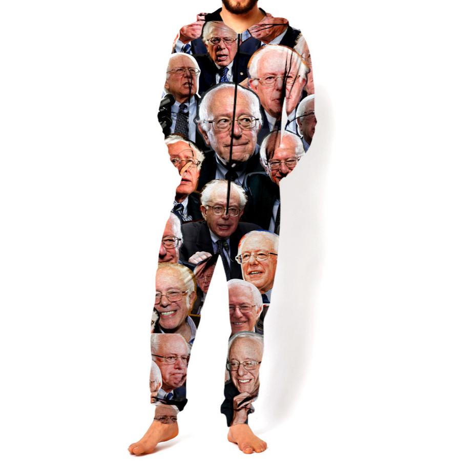 Bernie Sanders Paparazzi Onesie