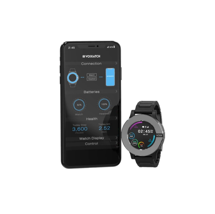VOIXATCH | The First Smart Watch with Built-in BT Headset