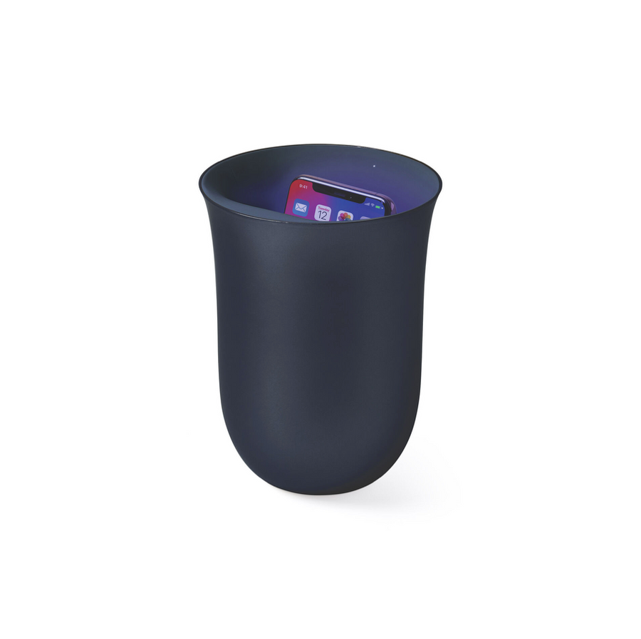 Lexon Oblio Wireless Charging Station & Sanitizer