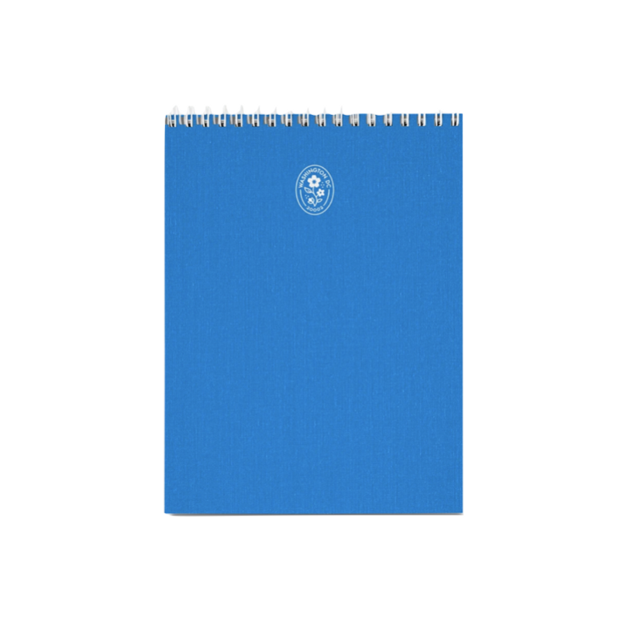 Cherry Blossom Creative District Notepad in Cobalt Blue