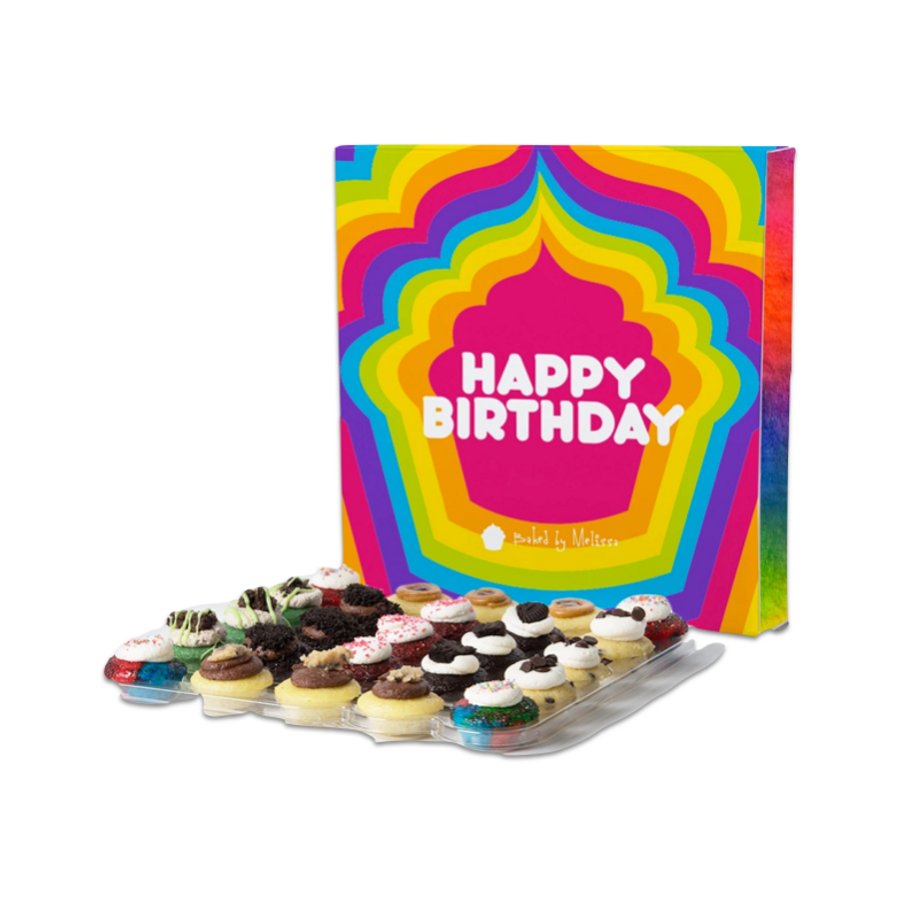Baked By Melissa The Sweet Birthday 25-Pack Box